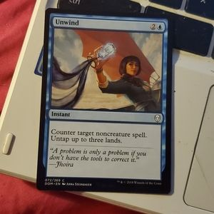 Unwind magic card